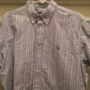 Classic fit button up polo by Ralph Lauren